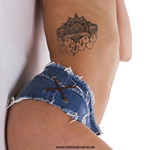 lotus-tattoo-mandala-flor-negro-fake-tattoo-impermeable-no-china-negro-2
