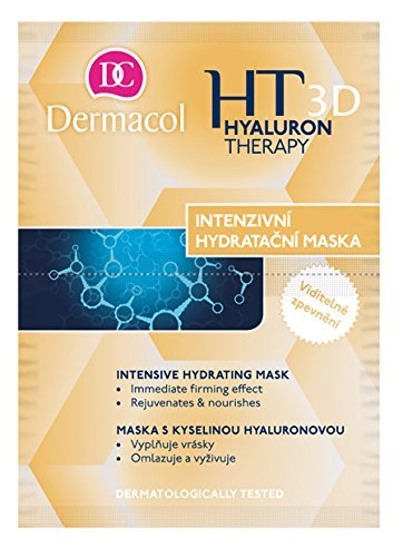 3D HYALURON THERAPY MASK 5 pcs + 1 free! Intensive Moisturizing and Remodelate Mask/Intensiv feuchtigkeitsspendend und Remodelate Maske 16 ml in 1 (2 x 8) Made in Tschechien -
