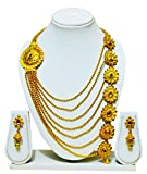 #9: KailasMegha Rani Haar 7 Liners Long Necklace For Girls And Womens