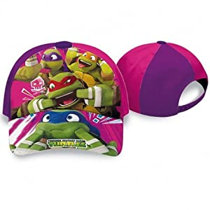 Kids Licensing-tn16016-Gorra-Tortugas Ninja-Talla 52-54