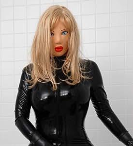 Sexy Female Latex Mask Rubber Fetish Amazon Co Uk Toys