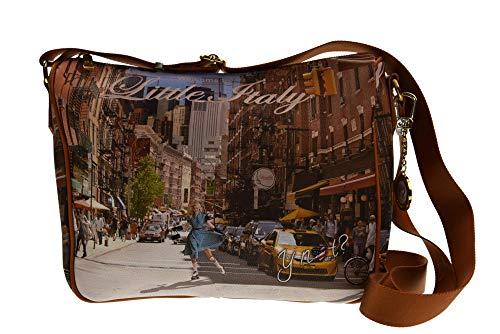f5a9f5af95 Y NOT? L-370 Umhängetasche Frau New york print TU