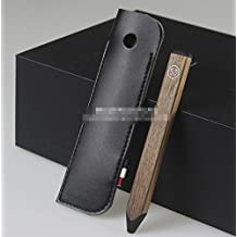 Black Microfiber Leather Case Fundas Cover Sleeve for FiftyThree Paper Pen pluma cil 53 Stylus