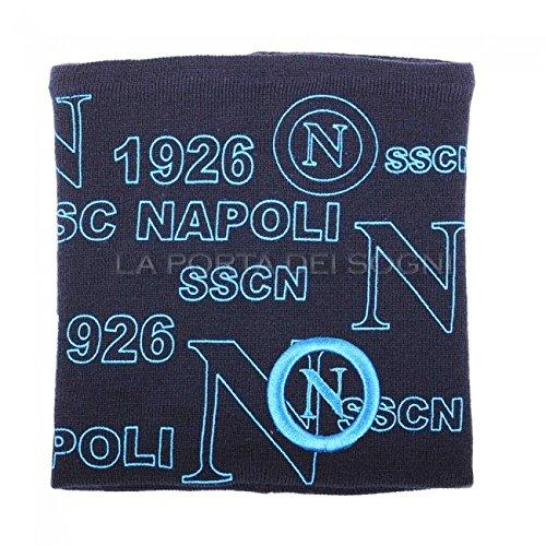 SSC NAPOLI – Bufanda – para hombre azul turquesa Talla única