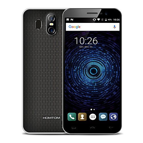 HOMTOM S16 Smartphone 2GB + 16GB 5.5 pulgadas (18:9) Cámara Triple (13MP+2MP+8MP) Android 7.0 MTK6580 Quad Core hasta...