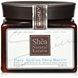 Saryna Key Curl Control Pure African Shea Butter, 16.9 Ounce