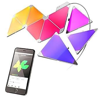 Nanoleaf Aurora Smarter Kit Amazon Co Uk Lighting