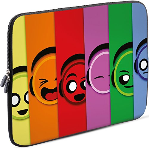 Sidorenko Tablet PC Tasche für 7-8 Zoll | Samsung Galaxy Tab 3 / Apple iPad mini | Universal Schutzhülle | Hülle Sleeve Case Etui aus Neopren, Grün