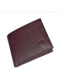 Woodland Maroon Men's Wallet