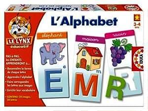 Educa - 13581 - Jeu Educatif - L'Alphabet - Petit Lynx Educatif