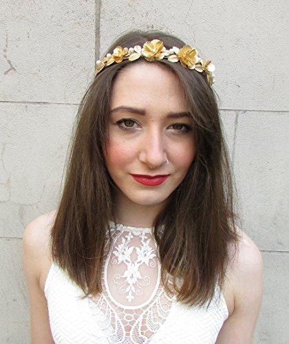 RUNWAY or perle baroque Primrose Serre Tête Vintage mariée Ivoire Boho ANNÉES M51 * * * * * * * * exclusivement vendu par – Beauté * * * * * * * *