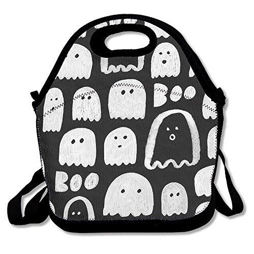 Lunch Tote Halloween Ghost Lunch-Boxen Lunchpaket Handtasche Lebensmittel Aufbewahrung passend für Schule Reisen Arbeit Outdoor