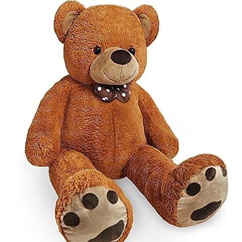 XL Teddy Bear Kids Soft Plush Teddies Giant Big Child Toys Dolls Teddies Brown