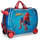 Marvel Spiderman Black Valigia per bambini 50 centimeters 39 Multicolore (Multicolor)