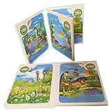 #8: Webby Set of 6 Animal Mosaic Jigsaw Puzzles, Multi Color