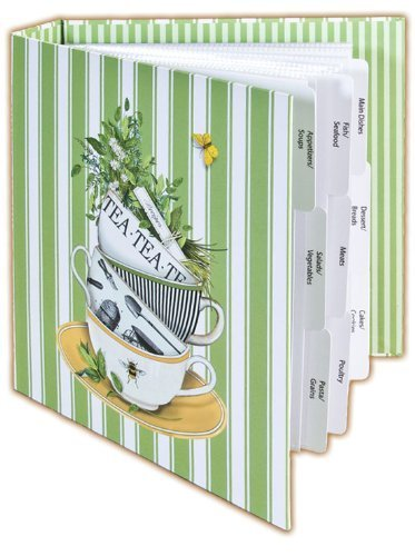Counter Art Tea Time Recipe Card Album by CounterArt