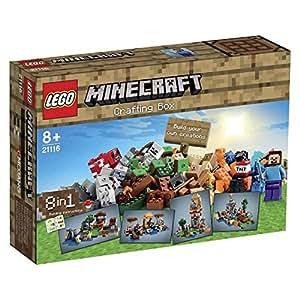 LEGO - 21116 - La boîte de construction - Minecraft