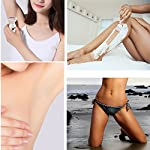 Lady Electric Shaver 3 In 1 Cordless Electric Shaver And Waterproof Body Hair Bikini Trimmer Facial Cleansing Brush Rotating Massager Set WetDry Available Female Shaver