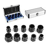 10 pz, set di utensili, scatola di estrattori per bulloni a dado, EXPSFN019942