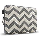 Best Case For Macbook Pro 13.3s - Runetz - 13-inch Chevron Gray Soft Sleeve Case Review