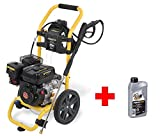 Benzin Hochdruckreiniger Benzinmotor 186-206 bar 4 Spezialdüsen mit Motor-Öl