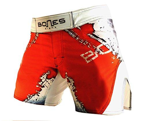Bones-Fight-Womens-Fight-Short-Womens-Short-mma-BJJ-Womens-grappling-Womens-Free-Fight-Short-Short