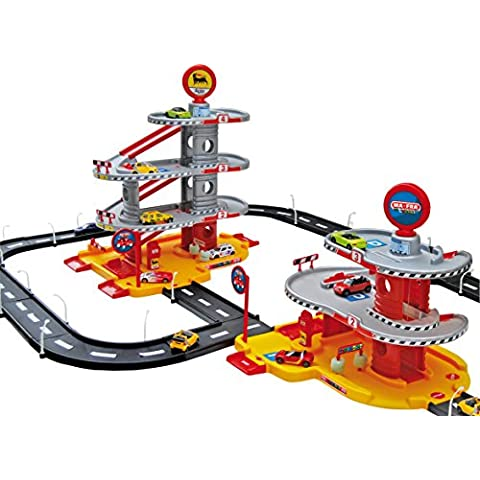 Faro - Circuito para coches de juguete Cars 2 Cars (158x46x119 cm) (SR707) [Importado]