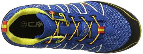 C.P.M. Atlas, Chaussures de Trail Mixte Adulte Bleu (Vela)