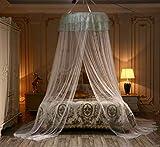 Digead Moustiquaire suspendue, Moustiquaire de lit Princess, Anti-insectes Grande...