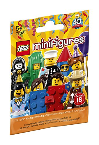 (LEGO Minifiguren Serie 18: Party 71021 lustige Sammelfiguren)