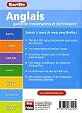 Image de Anglais Guide de Conversation et Dictionnaire