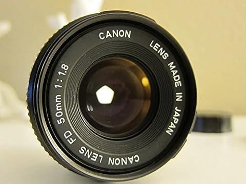 Canon Lens EF 50mm 50 mm 1.8 1:1.8 Metallbajonett für EOS OVP