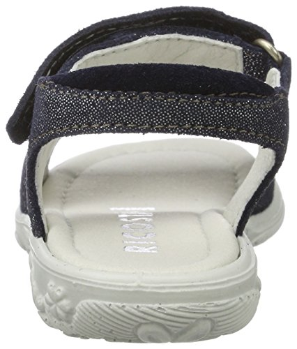 Ricosta Vicky, Sandales  Bout ouvert fille Blau (nautic)