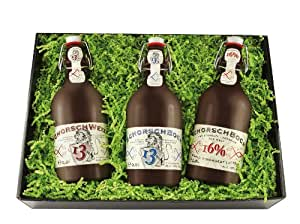 Geschenkset Bier-Schorsch - das Weltrekordtrio