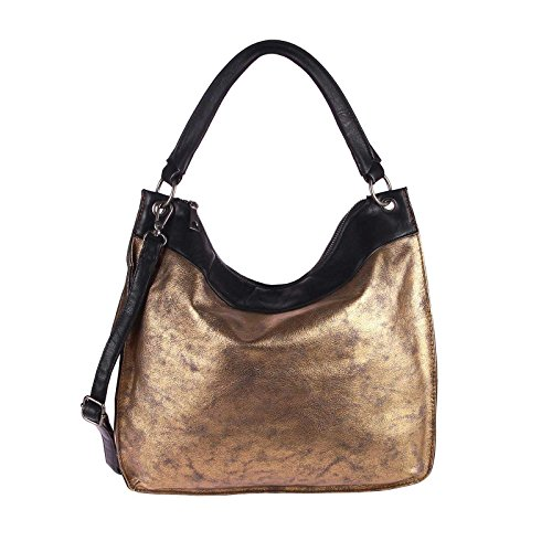 OBC Only-Beautiful-Couture, Borsa tote donna oro gold ca.: 39x35x12 cm (BxHxT) gold