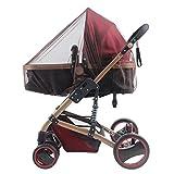 Fletion 3 Stück Volle Baby Insektenschutz Moskitonetz passend für Kinderwagen , Sportwagen