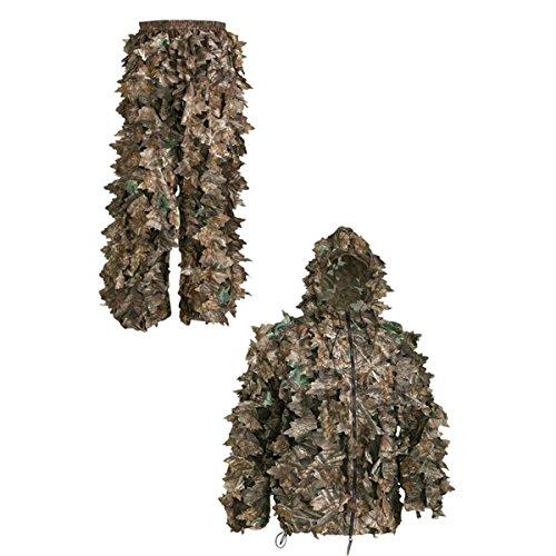 Realtree Camo-jagd-hosen (SwedTeam Leafcamoset - Unisex Jacke & Hose \xDCberzieh-Set - Laub-Camo)
