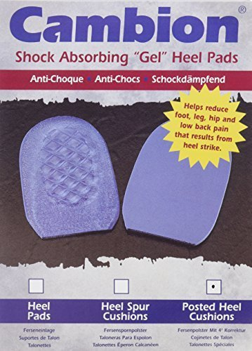 Cambion Posted Heel Cushions - Pair - Men 8-10, Women 10-12 by Cambion