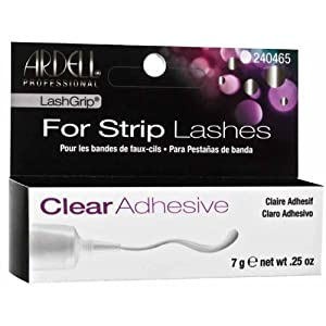 Ardell Lashgrip Strip Adhesive, Clear, 0.25 Ounce by Ardell