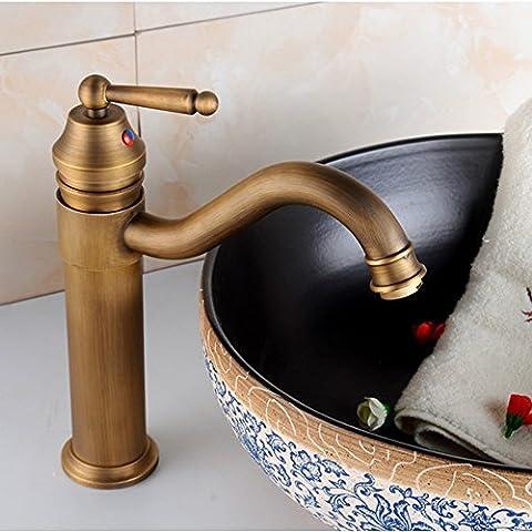 XHDWNBM Tutti rame caldo e freddo rubinetto