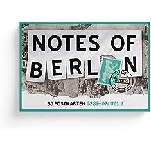 Notes of Berlin 30er Postkartenbox: Eine Hommage an die Berliner Zettelwirtschaft