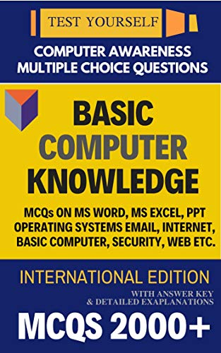 COMPUTER BOOK TEST YOURSELF - MULTIPLE CHOICE QUESTIONS MCQS