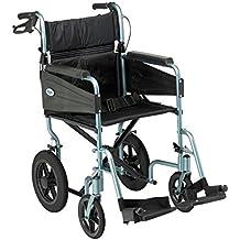 Patterson Medical Escape Lite - Silla de ruedas (asiento de 46 cm)