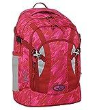 YZEA Schulrucksack PRO Spicy Rot Pink + Adressanhänger Bowatex