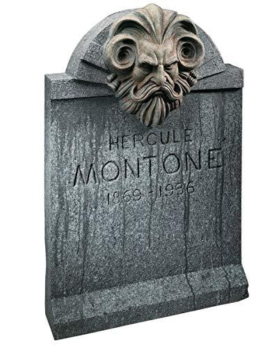 Horror-Shop Halloween Deko Grabstein Montone 90 x 60 cm