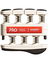 prohands by Gripmaster PRO- Aparato entrenador de dedos, color Rojo - Medio