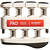 prohands by Gripmaster PRO- Aparato entrenador de dedos, color Rojo - Medio