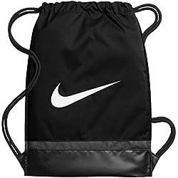 Nike Nk Brsla Gmsk Bolsa de Cuerdas, Hombre, Negro Black/White, Talla Única