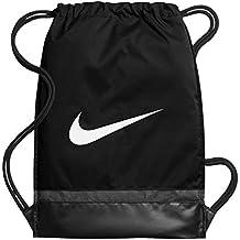 Nike Nk Brsla Gmsk Bolsa de Cuerdas, Hombre, Negro (Black/Black/White), Talla Única