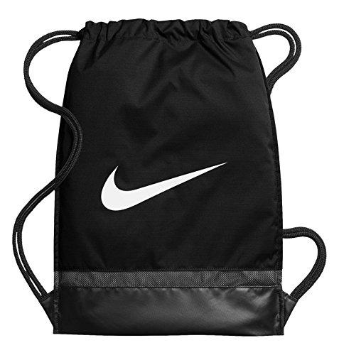 Nike BA5338, Sacco per Ginnastica Unisex-Adulto, Nero/Bianco, Taglia Unica